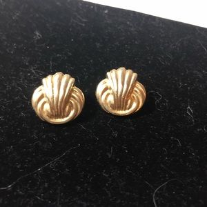 Gold Ornate Earrings